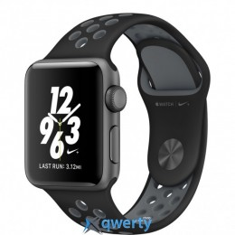 Apple Watch Nike+ MNYX2 38mm Space Gray Case with Blk/Cool Grey Nike Sport Band