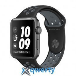 Apple Watch Nike+ MNYY2 42mm Space Gray Case with Blk/Cool Grey Nike Sport Band