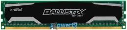 DDR3 8GB/1600 Crucial Ballistix Sport (BLS8G3D1609DS1S00CEU)