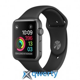 Apple Watch Series 2 MP0D2 38mm Space Gray Aluminum Case with Black Sport Band