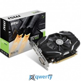 MSI GEFORCE GTX1050 2048MB OC (GTX 1050 2G OC) купить в Одессе
