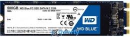 WESTERN DIGITAL BLUE SSD 500GB M.2 SATAIII (WDS500G1B0B)