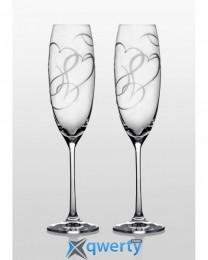 Grandioso набор бокалов для шампанского (Amour Swarovski)