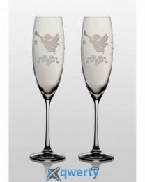 Grandioso набор бокалов для шампанского (Angel Swarovski)