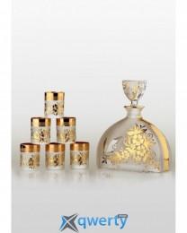 Prestige набор для водки Arabesque gold (6+1)