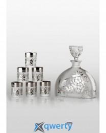 Prestige набор для водки Arabesque platinum (6+1)