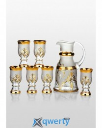 Royal набор для напитков Arabesque Gold (6+1)