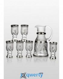 Royal набор для напитков Arabesque Platinum (6+1)