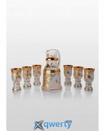 Royal набор для напитков Swarovski gold (6+1)