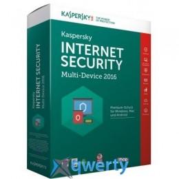 INTERNET SECURITY 2016 MULTI-DEVICE 1+1 PC 1year BASE BOX (KL1941OBAFS16)