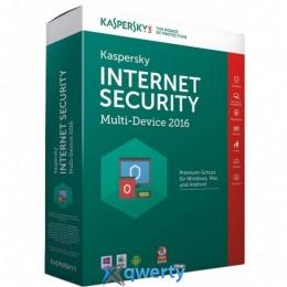KASPERSKY INTERNET SECURITY 2016 MULTI-DEVICE 2+1 ПК 1 ГОД BASE BOX (KL1941OBBFS16)