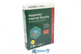 Kaspersky Internet Security 2017 Eastern Europe Edition 2Dvc 1Y+3mon. Box(KL1941OBBFS_2017)