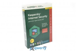 Kaspersky Internet Security 2017 Eastern Europe Edition 2Dvc 1Y+3mon. Renewal Box(KL1941OBBFR_2017)