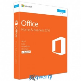 MICROSOFT OFFICE 2016 HOME AND BUSINESS ENGLISH (T5D-02710)