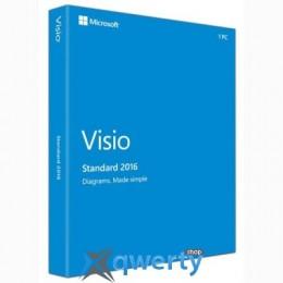 Microsoft Visio Std 2016 32-bit/x64 Russian EM DVD(D86-05540)