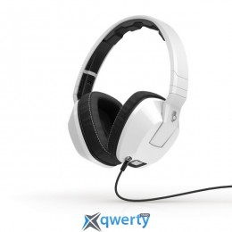 SKULLCANDY CRUSHER OVER-EAR W/MIC 1 WHITE (S6SCFZ-072)