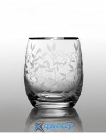 Club набор стаканов для виски 300 (Lido платина) 6 шт.
