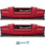 DDR4 16GB (2X8GB) 2133 MHZ RIPJAWSV G.SKILL (F4-2133C15D-16GVR)