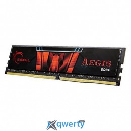 DDR4 8GB 3000 MHZ AEGIS G.SKILL (F4-3000C16S-8GISB)