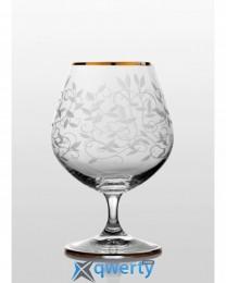 Viola набор бокалов для коньяка (Lido золото)