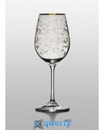 Viola набор бокалов для вина (Lido 350 золото) 2 шт.