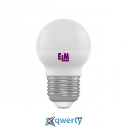 18-0015 Лампа ELM Led сфера 4W PA11 E27 4000 D45
