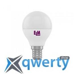 18-0020 Лампа ELM Led сфера 5W PA11 E14 4000 D45