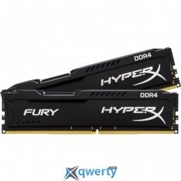 DRR4 16GB (2X8GB) 2133 MHZ HYPERX FURY BLACK KINGSTON (HX421C14FB2K2/16)