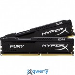 DRR4 16GB (2X8GB) 2133 MHZ HYPERX FURY BLACK KINGSTON (HX421C14FB2K2/16)