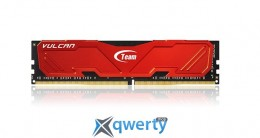 DDR4 4GB/2400 Team Vulcan Red (TLRED44G2400HC1401)