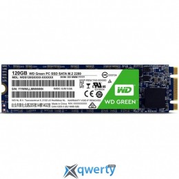 Western Digital Green SSD 120GB M.2 2280 SATAIII TLC (WDS120G1G0B)