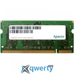 SODIMM DDR2 1GB 800 MHZ APACER (AS01GE800C6NBGC)