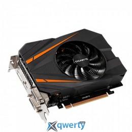 Gigabyte PCI-Ex GeForce GTX 1070 Mini ITX 8GB GDDR5 (256bit) (1506/8008) (2 x DVI, HDMI, Display Port) (GV-N1070IX-8GD)