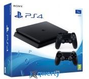 Sony Playstation 4 Slim 1TB с двумя джойстиками