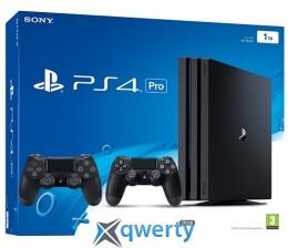 Sony Playstation PRO 1TB с двумя джойстиками