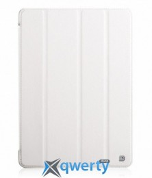 HOCO Duke trace PU case for iPad Air 2, white