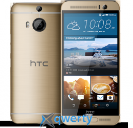 HTC One M9 Plus gold