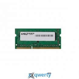 AMD SO-DIMM DDR3 1600 4GB (R534G1601S1SL-UOBULK) купить в Одессе