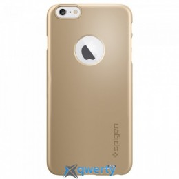 Spigen Case Thin Fit A Series Champagne Gold for iPhone 6 Plus/6S Plus (SGP10889) купить в Одессе