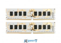 GeIL White Dragon 16GB (2x8GB) DDR4 2400MHz (GWB416GB2400C14DC) купить в Одессе