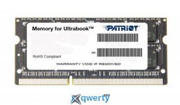 Patriot SoDIMM DDR3 8GB 1600 MHz (PSD38G1600L2S) купить в Одессе
