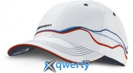 Бейсболка BMW Motorsport Fan Cap White 2015 (80162285865)