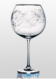 Бокалы для вина Grandioso платина купить в Одессе