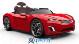 Автомобиль HENES детский; электро 12V; ПДУ Bluetooth 4.0; 8-16км/ч: кожаное кресло купить в Одессе