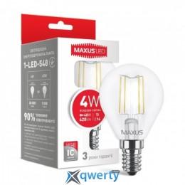 G45, 4W, яркий свет, E14 (1-LED-548) купить в Одессе