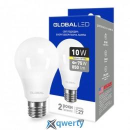 GLOBAL A60 10W мягкий свет 220V E27 AL (1-GBL-163) купить в Одессе