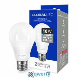 GLOBAL A60 10W яркий свет 220V E27 AL (1-GBL-163) купить в Одессе