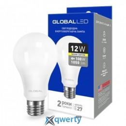 GLOBAL A60 12W мягкий свет 220V E27 AL (1-GBL-165)