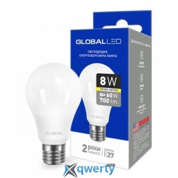 GLOBAL A60 8W мягкий свет 220V E27 AL (1-GBL-161) купить в Одессе