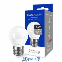 GLOBAL G45 F 5W яркий свет 220V E27 AP (1-GBL-142) купить в Одессе
